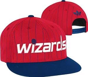 Washington Wizards adidas Originals Buzzer-Beater Flat Brim Snapback Adjustable Hat
