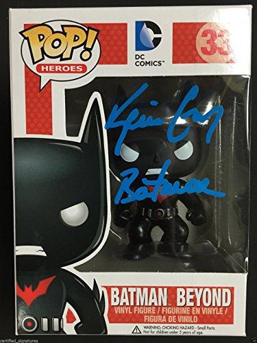 "KEVIN CONROY SIGNED ""BATMAN BEYOND"" FUNKO POP VINYL FIGURINE DC COMICS PROOF J3"