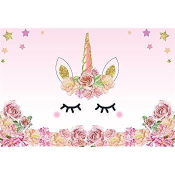 Amazon.com: Laeacco 5x3ft Photography Background Unicorn