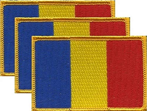 (Pack of 3 Country Flag Patches 3.50