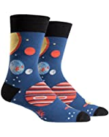 Sock It To Me Planets Mens Crew Socks