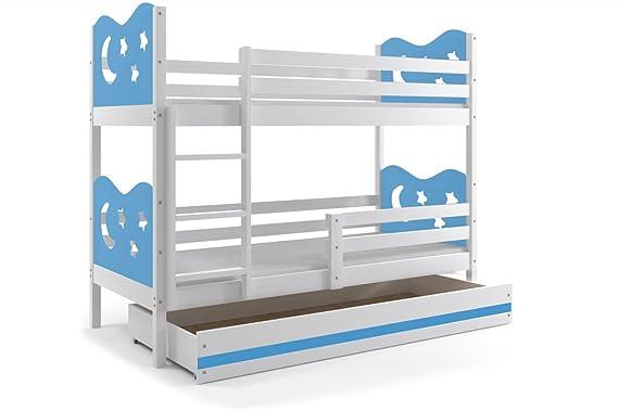 Etagenbett Quba 3 : Massivholz kiefer etagenbett liegeflächen inkl matratzen