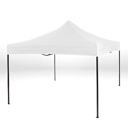 Carpa de jardín para eventos y fiestas 3 x 3 m, plegable en color Blanco.