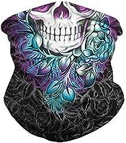 AMPLUSBEAU Rave Face Mask Headband Bandana Scarf Neck Gaiter Headwear Balaclava for Sports