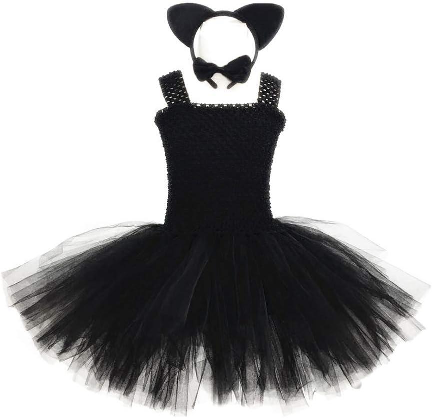 WANLN 2019 El más Nuevo Disfraz de Halloween para niños Black Cat ...