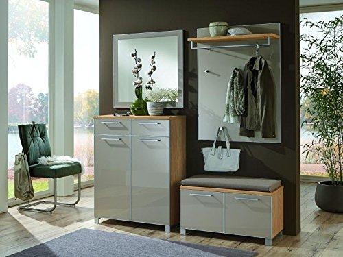 Voss-Möbel Dielenprogramm SANTINA Set 4, ca. 180cm in der Farbe Taupe