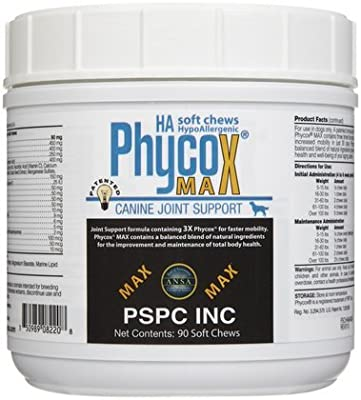 PSPC Phycox Max HA 90 Count Canine Soft Chews by Lambriar Vet