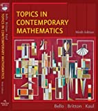 Topics in Contemporary Mathematics 9th Edition