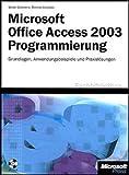 Microsoft Office Access 2003 Programmierung