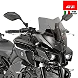 Givi Sport Screen, Yamaha FZ-10, Dark Smoke
