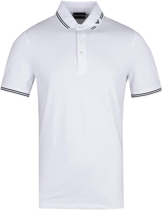 Emporio Armani Mens Tipped Eagle Polo Shirt: Amazon.co.uk: Clothing