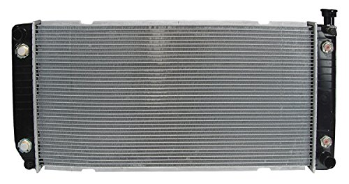 Radiator - Fits 1999-1994 GMC C1500 Suburban (5.7L V8 350 CID; 34 inch x 17 inch Core, With 1 1/4 inch Core Depth, With Engine Oil Cooler And Transmission Oil Cooler)
