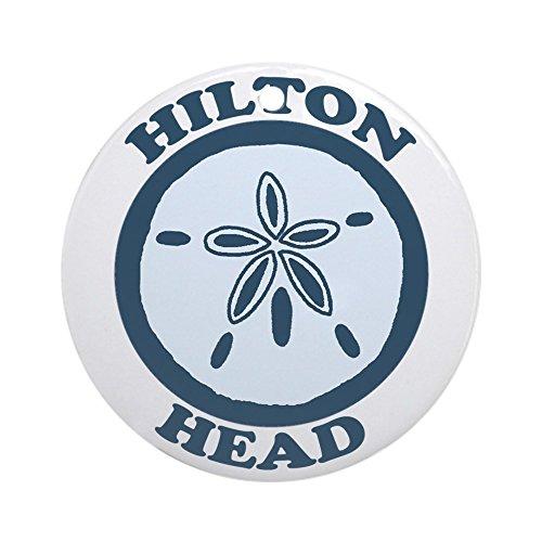 CafePress - Hilton Head Island SC - Sand Dollar Design Ornamen - Round Holiday Christmas (Party City In Savannah Georgia)