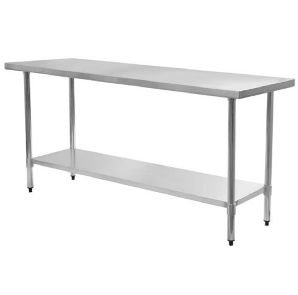 24'' x 72'' Stainless Steel Work Prep Table Commercial Kitchen Restaurant New