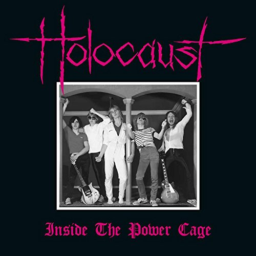 Holocaust - Inside The Power Cage (Blood Red Vinyl) (Colored Vinyl, Red, United Kingdom - Import, 2PC)