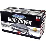 Shoreline Marine Warm Weather Boat Cover, Silver, 14-16-Feet