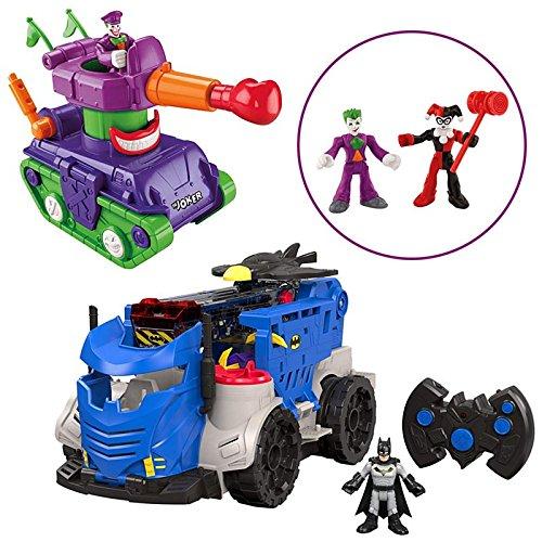 BUNDLE Imaginext DC Super Friends Justice League Playset Gift Set