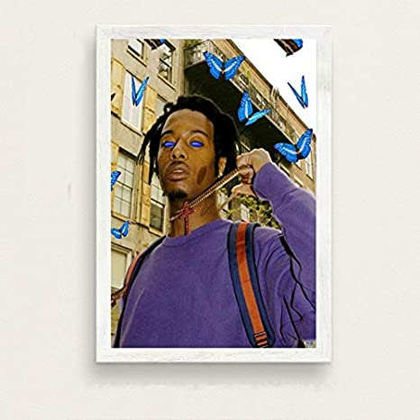 yiyiyaya Playboi Carti álbum de música Popular Hip Hop Rap Star Art Pintura Lienzo póster Pared decoración del hogar decoración del hogar 40x60cm