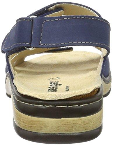 Femme Bout Sandales Bleu 15640 Weeger Ouvert ZqwvzcOnc