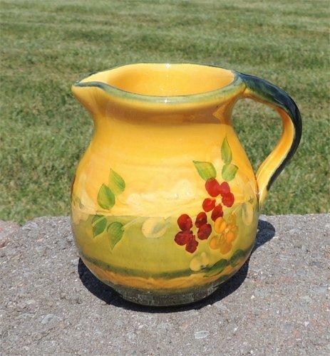 Souleo Provence Terre e Provence Pottery - Milk Jug/Creamer by Souleo Provence Terre e Provence Pottery