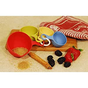 Bamboo Fiber Measuring Spoons and Cups Utensils Set. Dishwasher Safe Cookware. Bamboo Utensils Are Great Décor. These Bamboo Accessories Can Be Used for Special Occasion Like Hawaiian Themed Event. This Bamboo Accessory Is Indoor/outdoor Friendly.