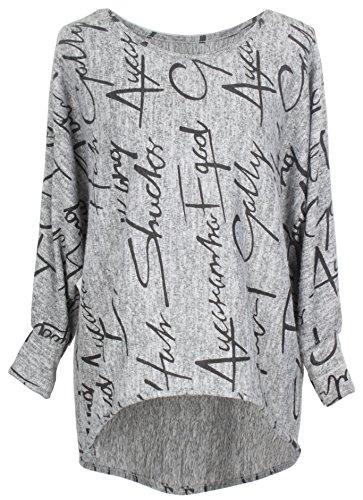 Emma & Giovanni - Pullover Sweatshirt Oversize- Damen
