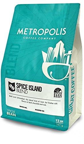 Spice Island Blend, Metropolis Coffee 12 oz bag, Whole Bean Coffee by Metropolis Coffee