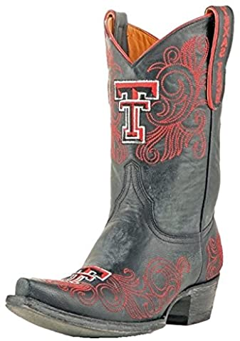 NCAA Texas Tech Red Raiders Women's 10-Inch Gameday Boots, Black, 6.5 B (M) US (University Of Texas Boots)