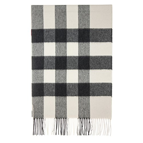 Burberry Unisex Large Classic Cashmere Scarf Stone by BURBERRY