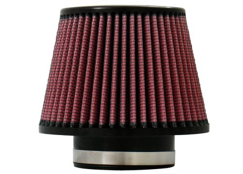 "Injen Technology X-1015-BR Black and Red 3.5"" High Performance Air Filter"