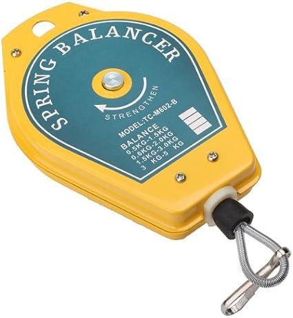 Hervorragende Schale Federzug mit 3m Seilzug RSHJD Einziehbare Federzug Balancer f/ür Flie/ßband und Fabrik Belastung-1-3kg//3-5kg//5-9kg//9-15kg