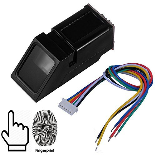 OSOYOO All-in-one Optical Fingerprint Sensor Module for Arduino Locks, Secure Your Project with Biometrics