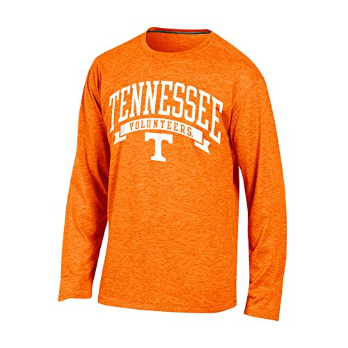 Tennessee Volunteers Sleeve Long (Champion NCAA Tennessee Volunteers Adult Men Long Sleeve Crew Neck Tee, XX-Large, Orange Heather)