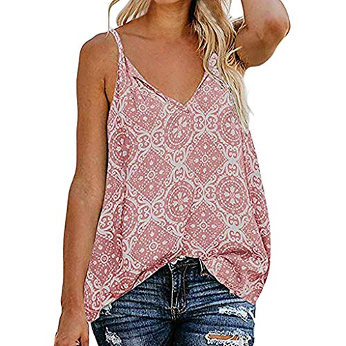 Women's Tops Paisley Printed Long Sleeve Henley V Neck Pleated Casual Flare Tunic Blouse Shirt Pink