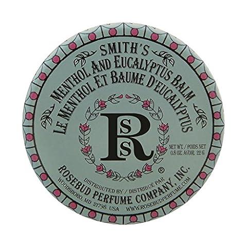 Rosebud Perfume Company Menthol & Eucalyptus Salve, 0.8 oz - Rosebud Salve