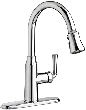 Portsmouth Single Handle Deck Mounted Kitchen Faucet Finish Chrome Flow Rate 1 5 Amazon Com