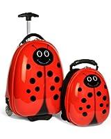Travel Buddies Luggage Set, Lola Ladybug