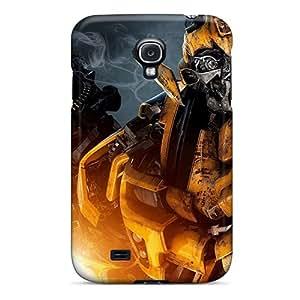 Samsung Galaxy S4 Qjn2746exxE Custom Fashion Transformers Bumblebee Skin Shockproof Hard Phone Covers -DannyLCHEUNG