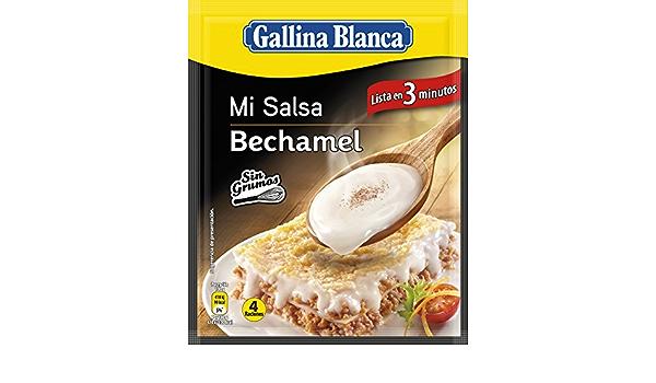Gallina Blanca - Mi Salsa Bechamel: Amazon.es: Alimentación y bebidas