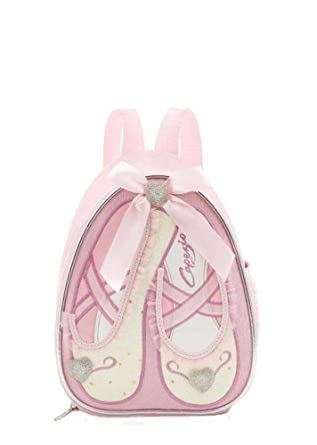 Capezio - Bolso mochila para mujer rosa Pink Sparkle 18cm W x 23cm H x 12cm D: Amazon.es: Ropa y accesorios