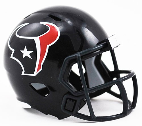 HOUSTON TEXANS NFL Cupcake / Cake Topper Mini Football Helmet by Unknown