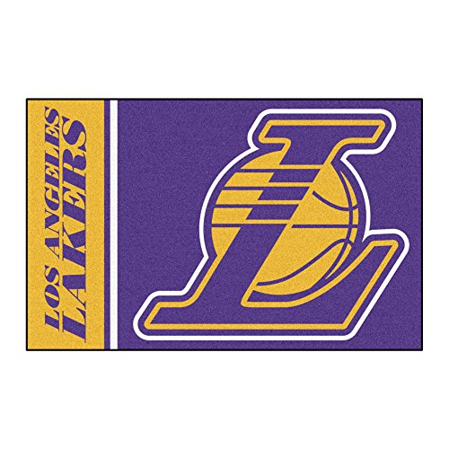 Fanmats 17915 NBA Los Angeles Lakers Uniform Inspired Starter Rug
