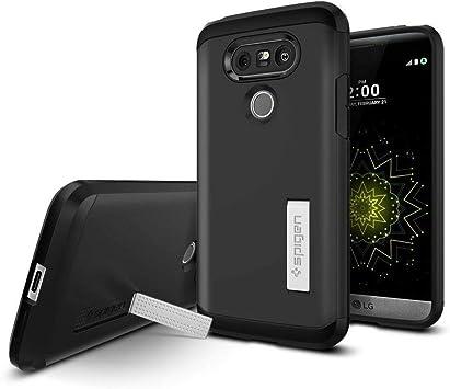Spigen Funda LG G5, ç [Tough Armor] Heavy Duty [Black] Extreme ...
