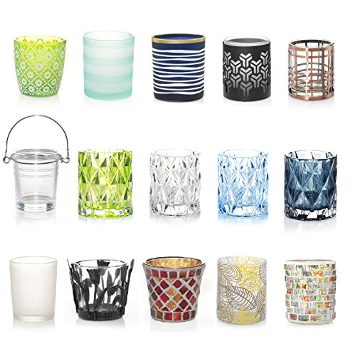 Yankee Candle 8 Assorted Votives + FREE Votive Holder Variety Theme (Floral) by Yankee Candle (Image #1)
