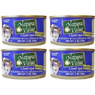 Natural Value Cat Chunk Sard/Shrmp/Crb% (24/3OZ)