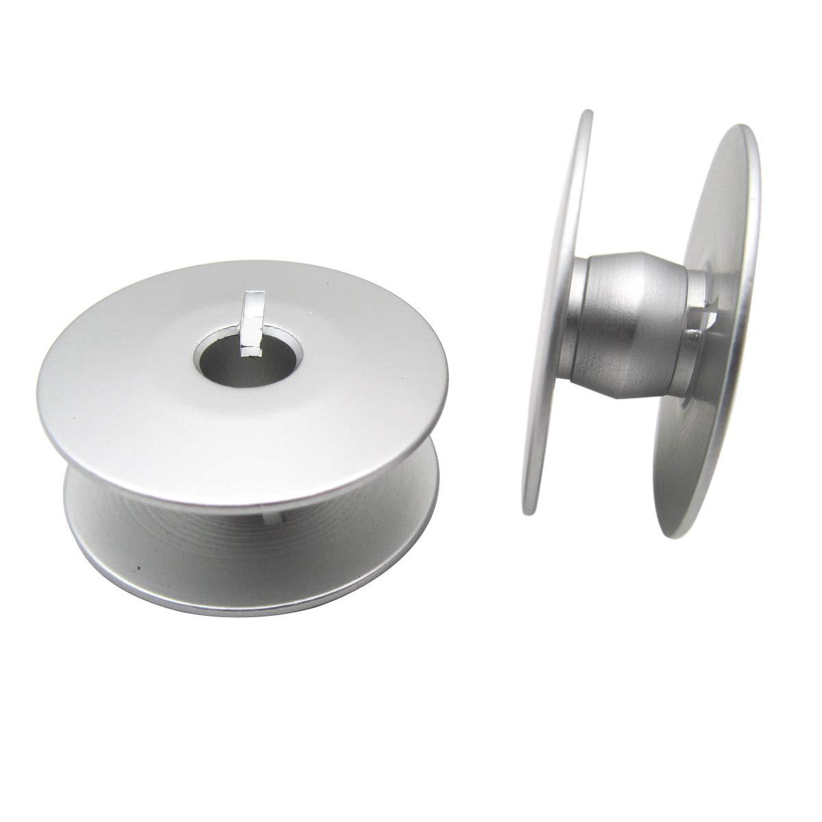 #0245-001660 26MM Aluminium Bobbins Fit for Durkopp Adler 367 467 767 768 867 868 30PCS CKPSMS Brand
