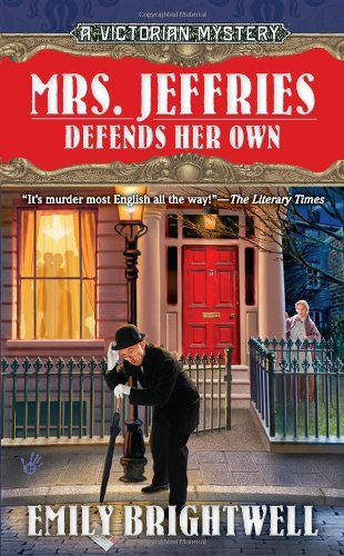 book cover of Mrs. Jeffries Defends Her Own