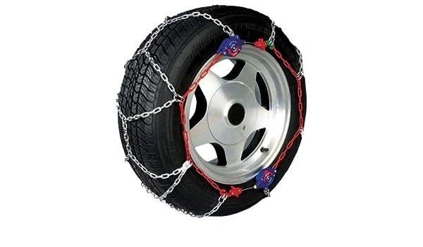 Foundation Deals Auto Self Tightening 14-18 Snow Tires Chains 2PCS Pair Set