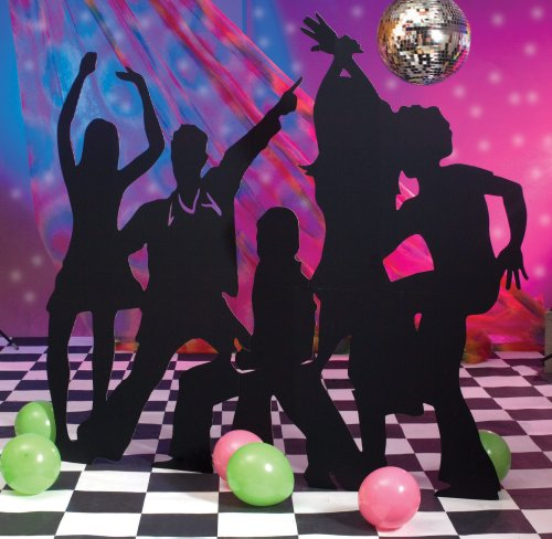 Disco Party Props (Disco Silhouettes)