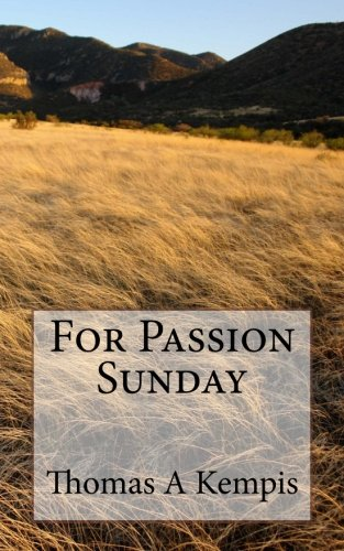 For Passion Sunday